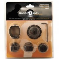 Helmbevestiging L-5(R)/ IL-3(R), global mount , Black Jack